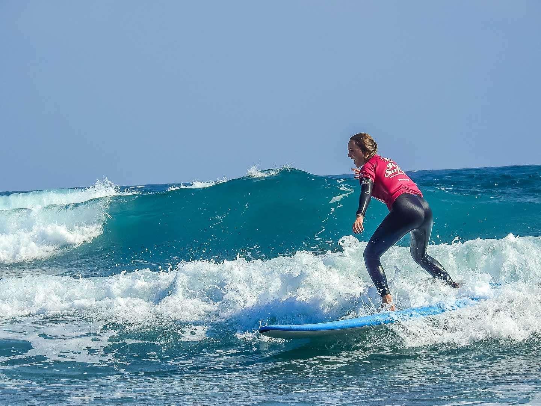 Las mejores olas de la isla